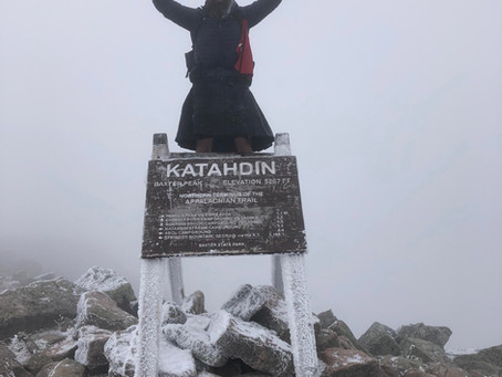 Yes I hiked the Appalachian Trail