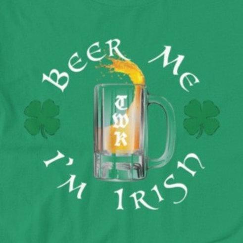 BEER ME I'M IRISH - Short-Sleeve T-Shirt (LIMITED EDITION)