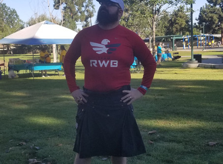 7000 miles in a Kilt? On purpose?