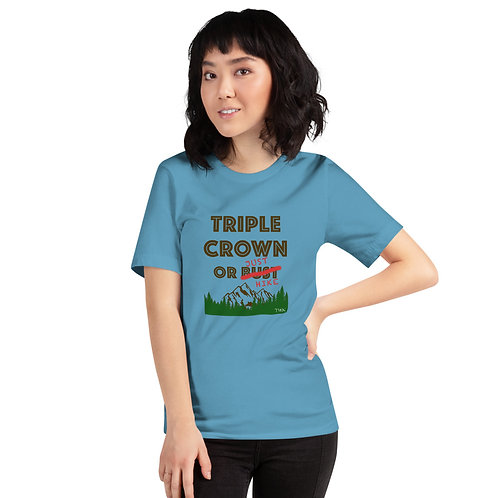 Triple Crown Or Bust - Short-Sleeve T-Shirt