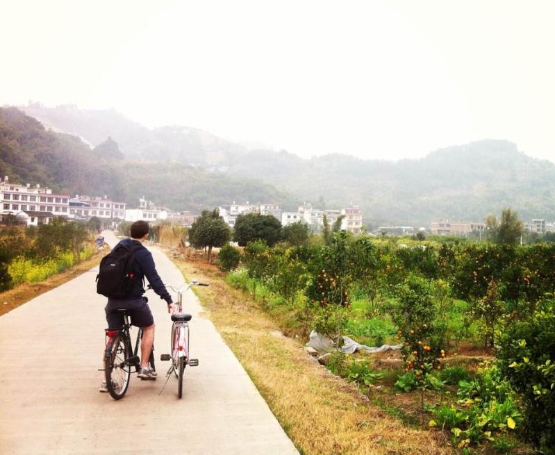 Nowhere, China