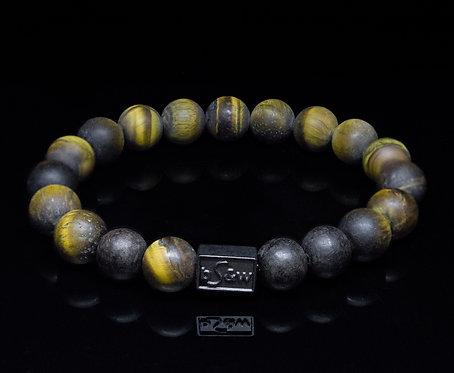 Matt Tiger Eye Stone beadS