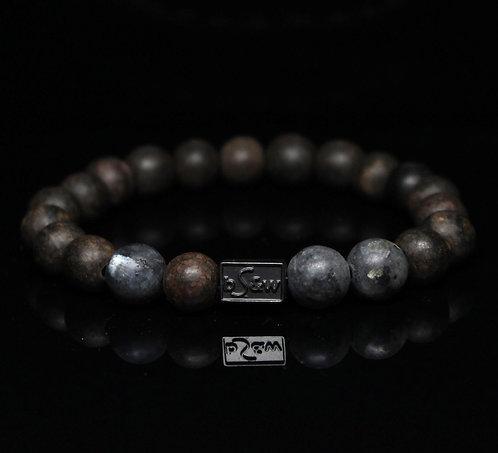 Labradorite Wood BeadS