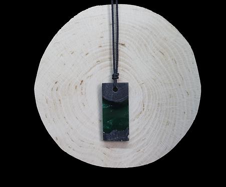 Green epoxy - wood