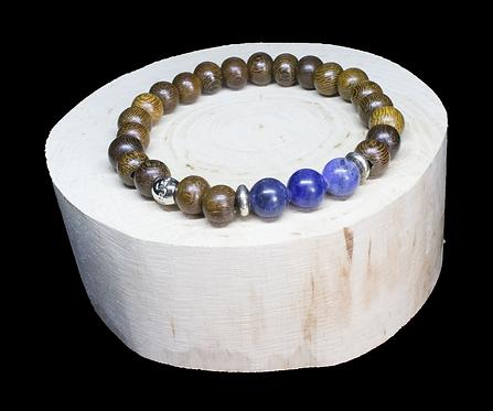 Blue Sodalite Wood