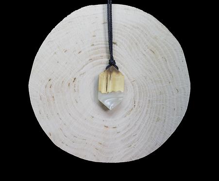 White epoxy - wood