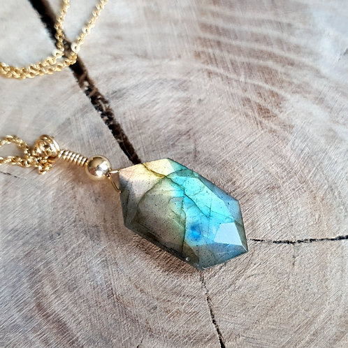 Labradorite - Gold Filled 14K