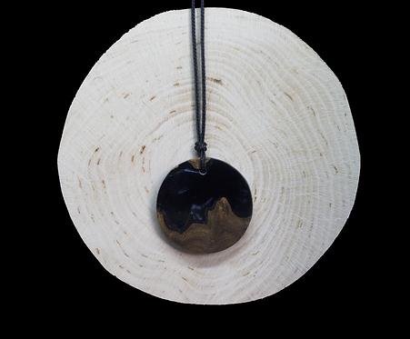 Black epoxy - wood