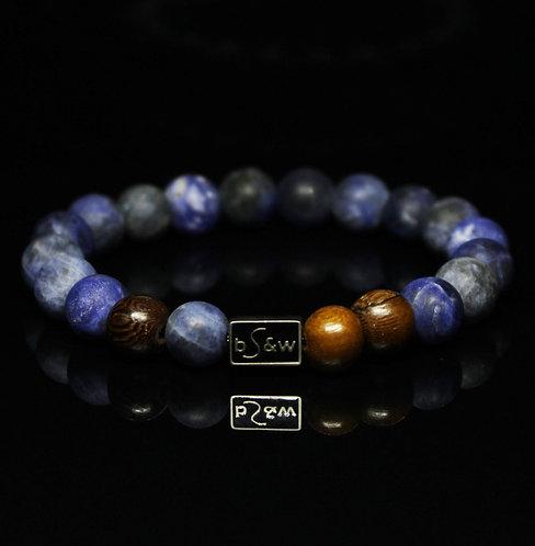 Blue Sodalite Matte Stone BeadS