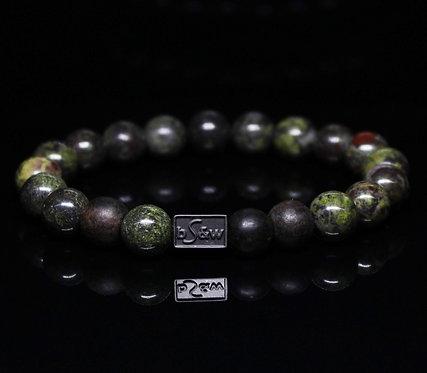 Dragon Blood Stone BeadS