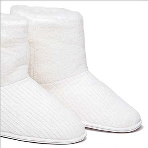 Pantuflas toalla altas