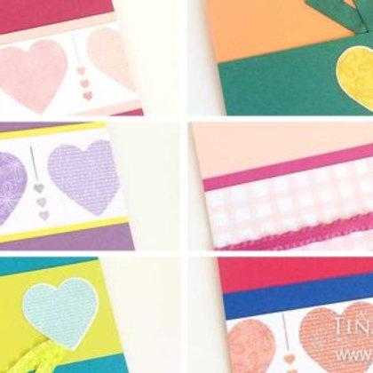 Heart Card Kit for Kids