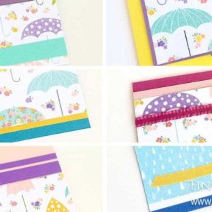 Umbrella Card Kit for Kids