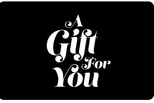 Gift cards come in multiple of $10.