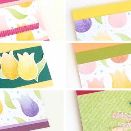Tulip Card Kit for Kids