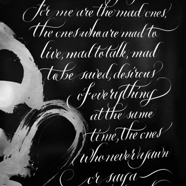 Burn, Burn, Burn by Jack Kerouac