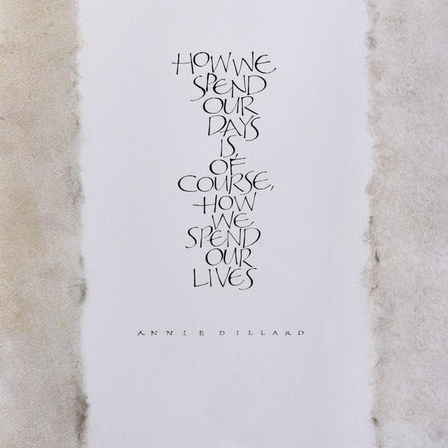 How We Spend Our Days, Annie Dillard