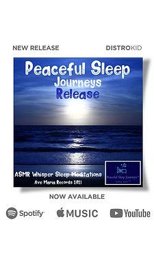 Peaceful Sleep Journeys ASMR Meditations Sounds Music