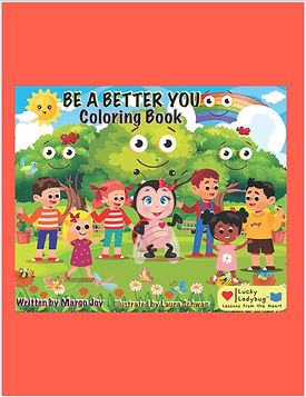 Be A Better You Coloring Book
