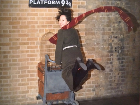 英國尋找哈利波特蹤影─國王十字車站、牛津大學