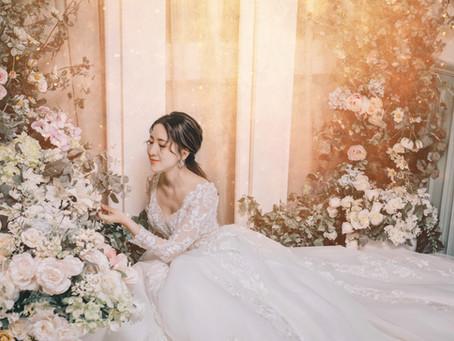 給所有的自主女性:嫁給幸福,而不是勉強自己去嫁誰! 從婚紗禮服挑選、妝髮造型到棚內拍攝建議