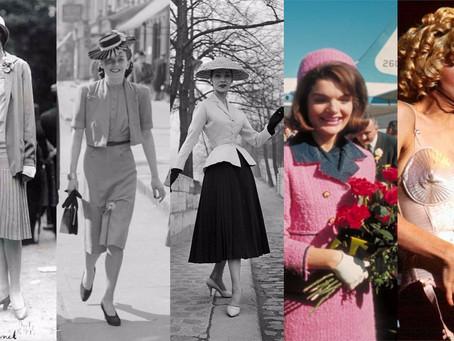 20S、30S、40S、50S、60S、70S、80S、90S,各年代時裝風格演變一次弄懂