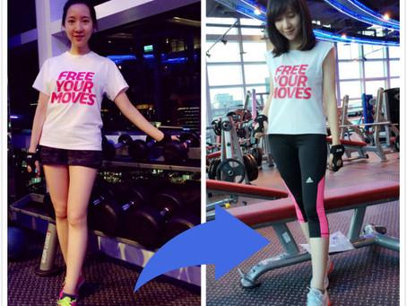 一刀剪出完美健身用T-shirt