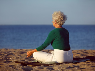 Sid godt, når du mediterer