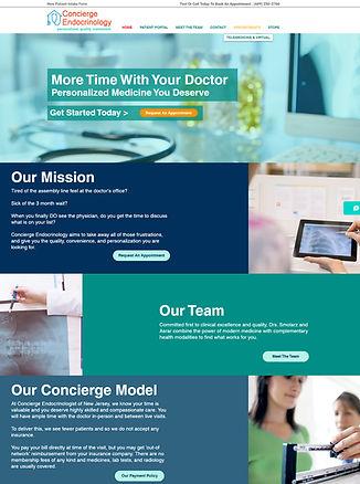 concierge endocrinology website