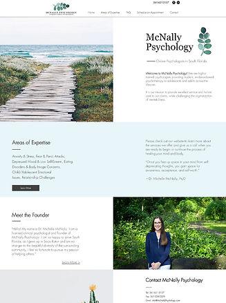 mcnally psychology website