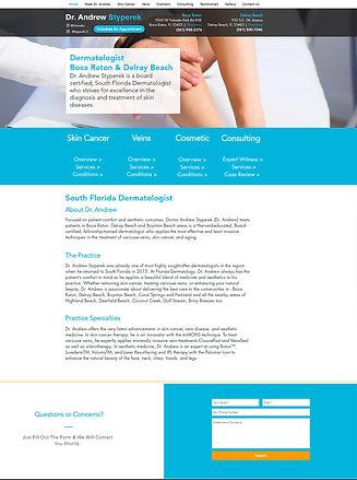 dermatologist website