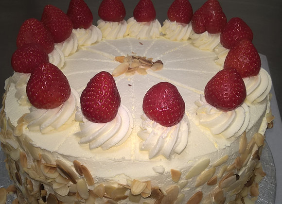 Dairy Cream Strawberry Gateaux