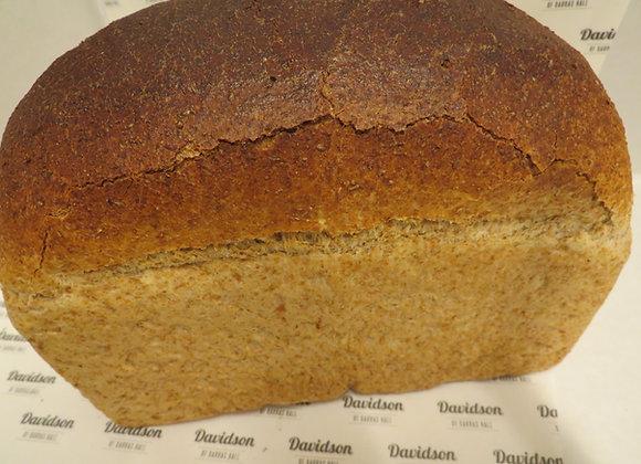 800g 100% Wholemeal Tin Bread