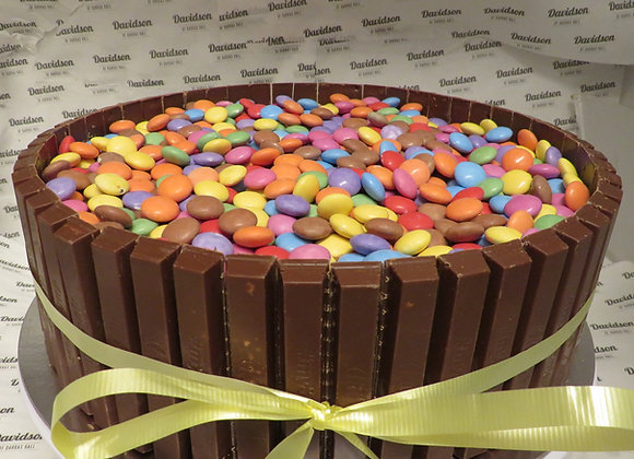 Smarty Party Kit Kat Cake