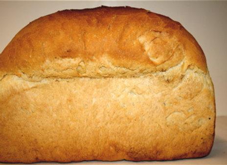 Large White Tin Bread