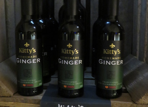 Kitty's Home Made Ginger Wine (35cls)