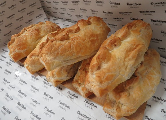 Vegetable and Beef Pasty