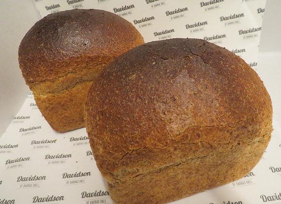 400g 100% Wholemeal Tin Bread