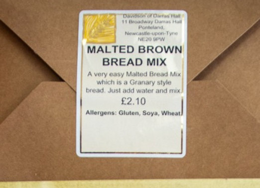 Malted Brown Home Bread Mix