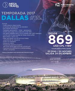 ULTIMA FECHA NFL DALLAS 2017