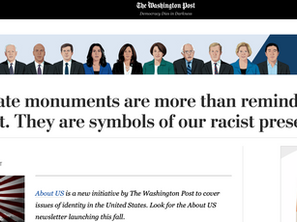 Confederate monuments are more than reminders of our racist past. (Washington Post, 2017)
