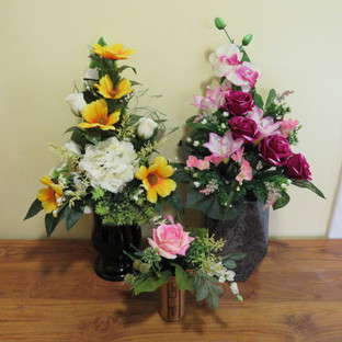 Bouquets en fleurs artificielles