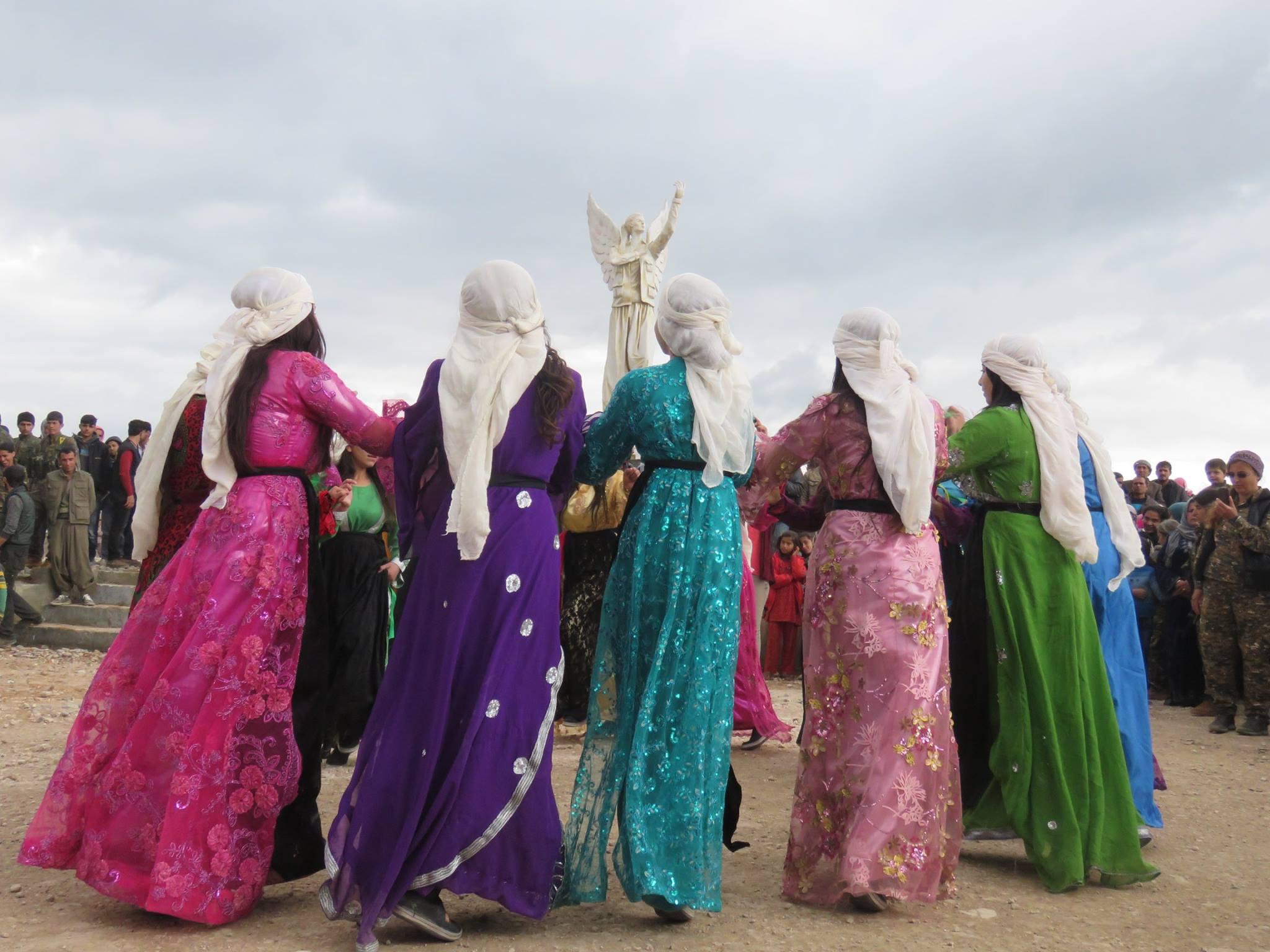 Kobane memorial