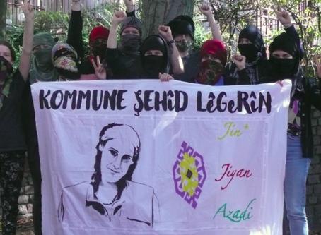 Primera comuna internacionalista de mujeres jóvenes Ş. Lêgerîn fundada en Koln (Alemania)