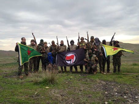 YPG International llama a todxs lxs revolucionarixs a unirse a la lucha armada contra el fascismo!