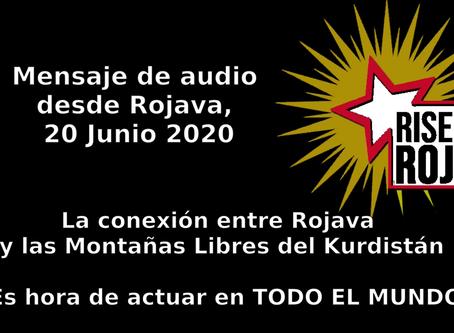 Mensaje de Rojava sobre la situación política en Kurdistán