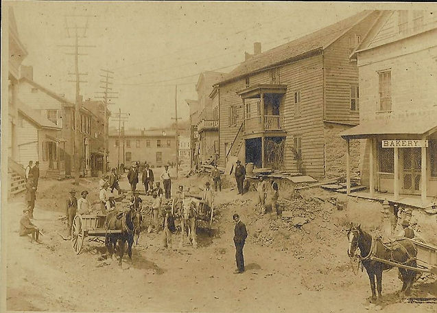 Main Street Lowering Early 1900s.jpg