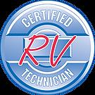 RVDA-RVIA Certified RV Technician Logo