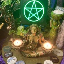 Tealight Holder Goddess
