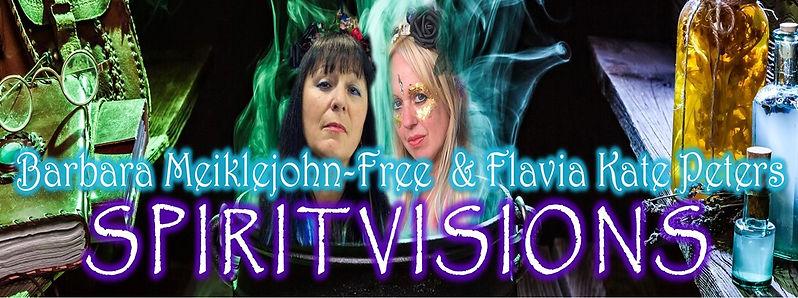 Spirit Visions Barbara Meiklejohn-free Flavia Kate Peters Spirit Visions Wholesale